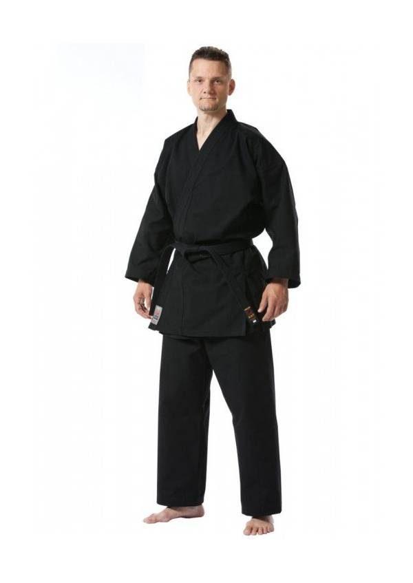 Кимоно черное, Куро, 14 oz, TOKAIDO