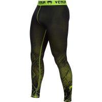 Компрессионные штаны Venum Fusion Compression Spats - Black Yellow