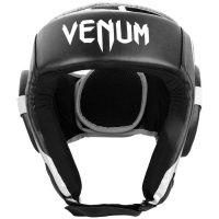 Шлем боксерский Venum Challenger 2.0 Open Face Black/White