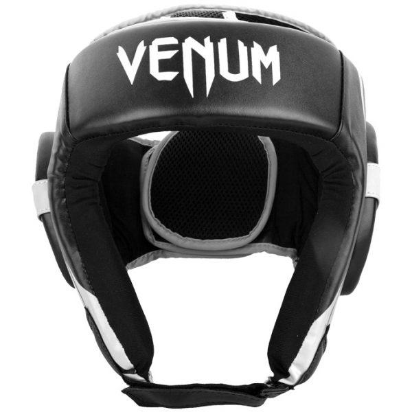 Шлем боксерский Venum Challenger 2.0 Open Face Black/White