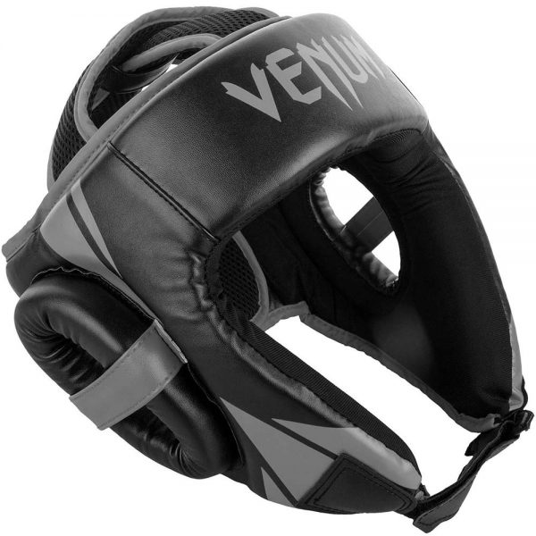 Шлем боксерский Venum Challenger 2.0 Open Face Neo Black/Grey