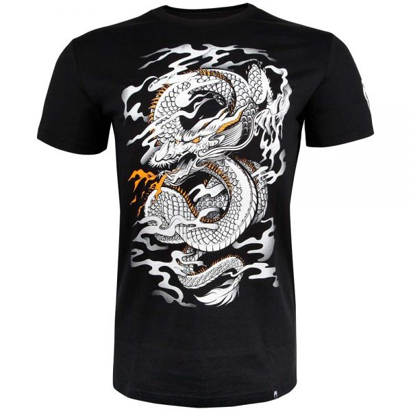 179Футболка Venum Dragon's Flight Black/White