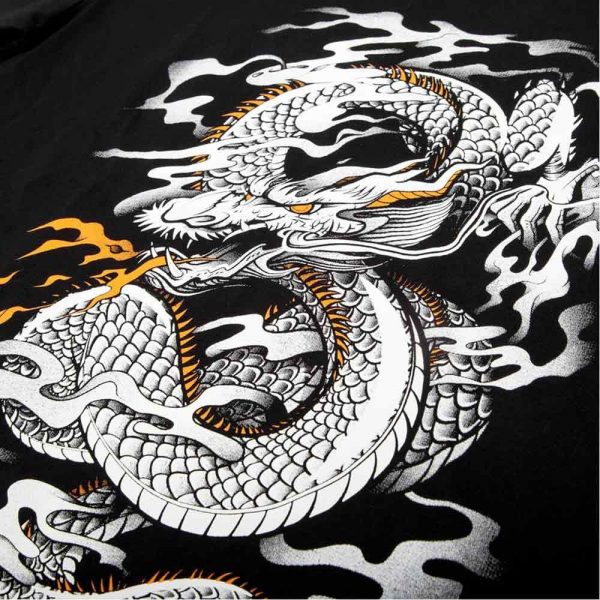 181Футболка Venum Dragon's Flight Black/White