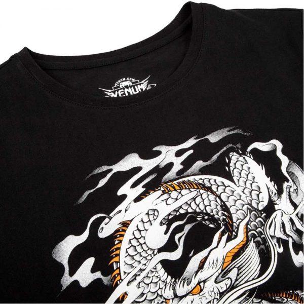 182Футболка Venum Dragon's Flight Black/White