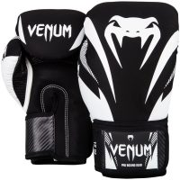 Боксерские перчатки Venum Impact Black/White