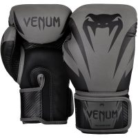 Боксерские перчатки Venum Impact Grey/Black