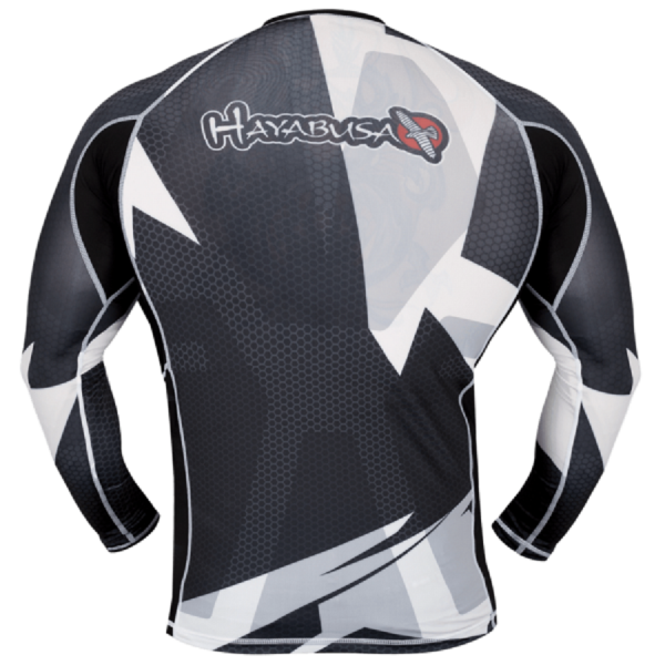 Рашгард Hayabusa Metaru Black/White L/S