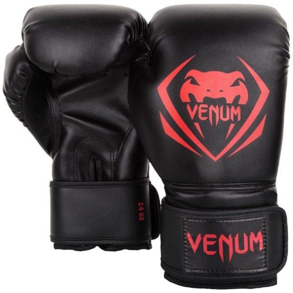 Перчатки боксерские Venum Contender Black/Red