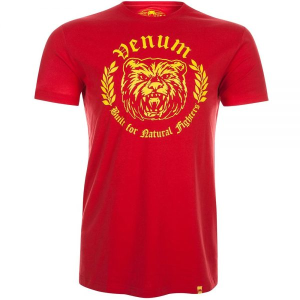 Футболка Venum Natural Fighter Bear - Red