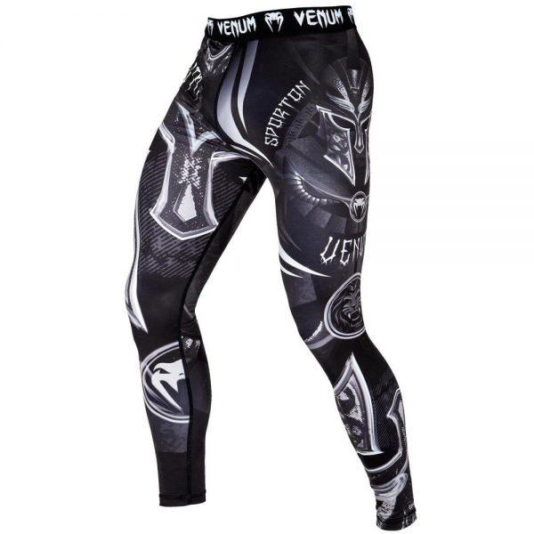 Компрессионные штаны Venum Gladiator 3.0 Black/White