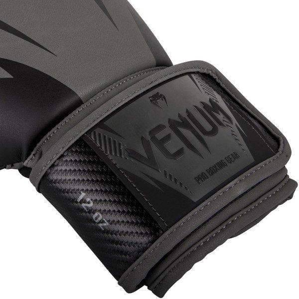 Боксерские перчатки Venum Impact Grey/Black