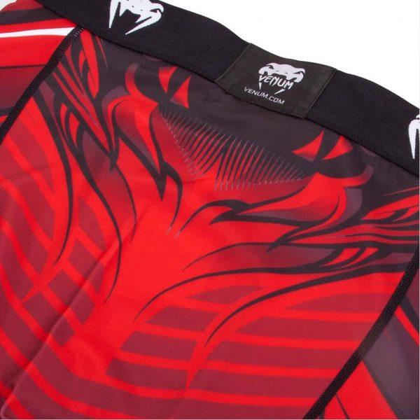 Компрессионные штаны Venum Bloody Roar Black/Red