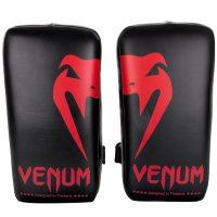 Пэды Venum Giant Kick Pads Black/Red (пара)