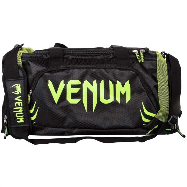 Сумка Venum Trainer Lite Black/Neo Yellow