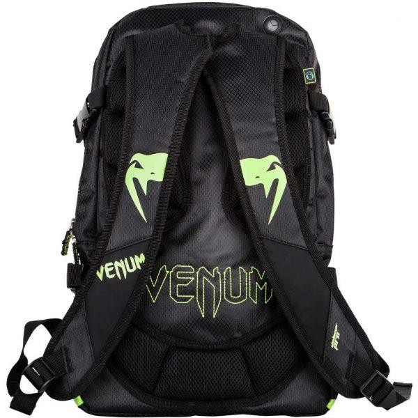 Рюкзак Venum Challenger Pro Black/Neo Yellow