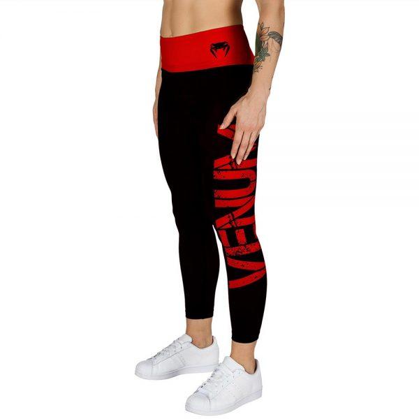 Леггинсы Venum Power - Black/Red