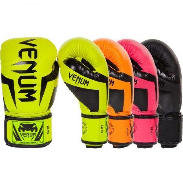 Перчатки боксерские Venum Elite Neo Yellow