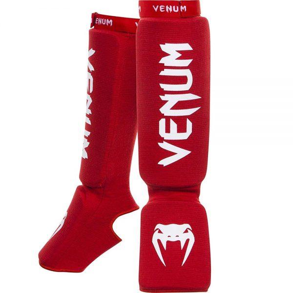 Щитки Venum Kontact Red