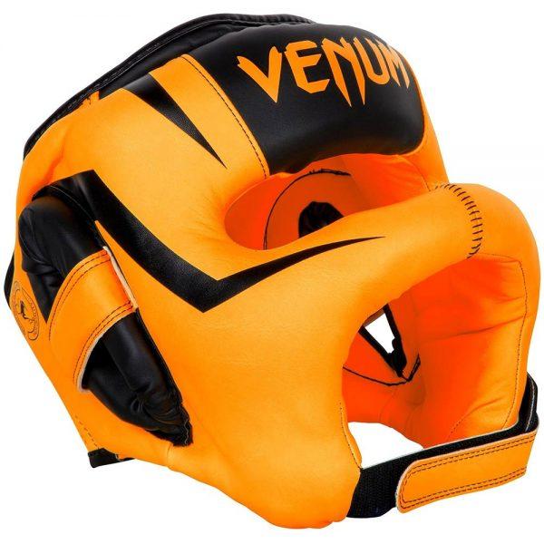 Шлем боксерский Venum Elite Iron Fluo Orange