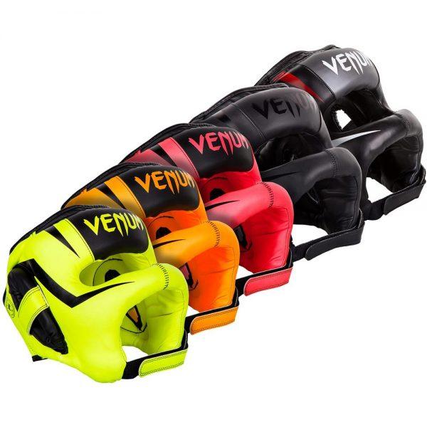 Шлем боксерский Venum Elite Iron Fluo