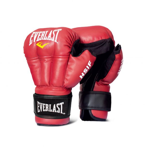 Перчатки для рукопашного боя HSIF Leather EVERLAST
