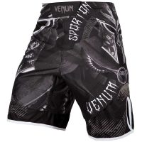 Шорты ММА Venum Gladiator 3.0 Black/White