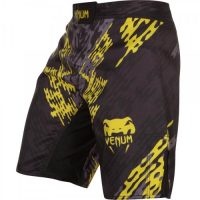 Шорты ММА Venum Neo Camo Black/Grey/Yellow