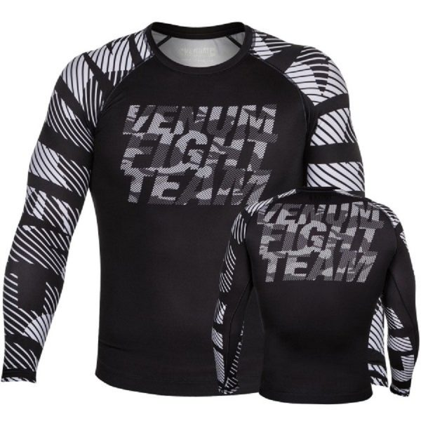 Рашгард Venum Speed Camo Urban Black L/S