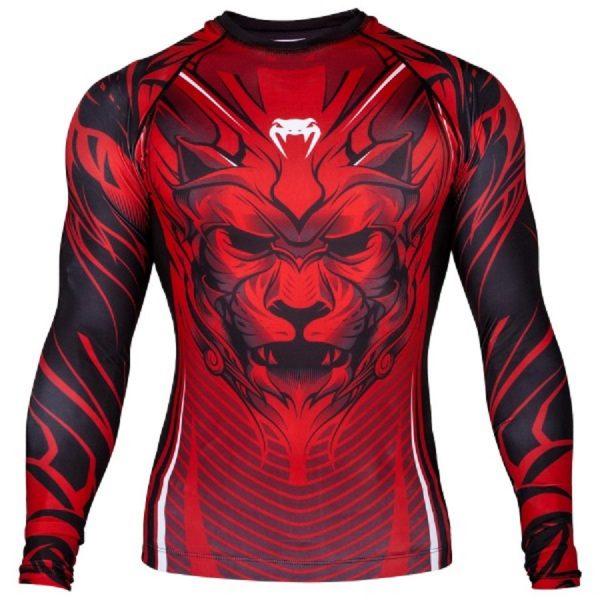 Рашгард Venum Bloody Roar Black/Red L/S