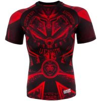 Рашгард Venum Gladiator Black/Red S/S