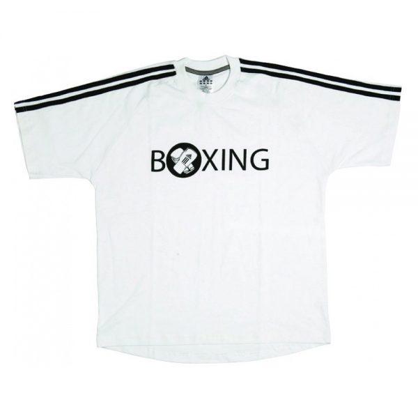 Футболка для бокса ADIDAS, 100% хлопок, белая
