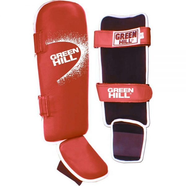Защита голень +стопа Fighter Green Hill