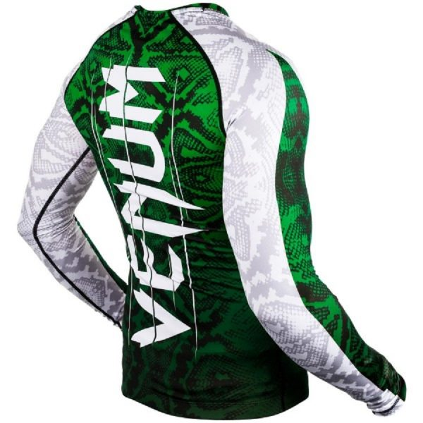 Рашгард Venum Amazonia 5.0 Green L/S (тренировочная форма)