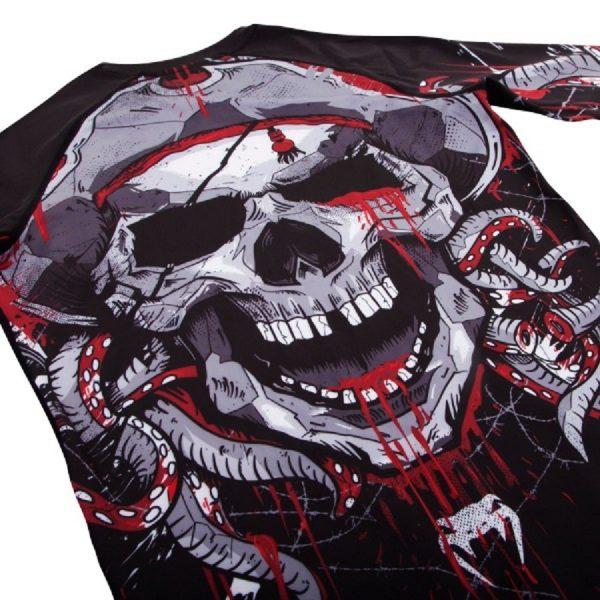 Рашгард Venum Pirate 3.0 Black/Red L/S