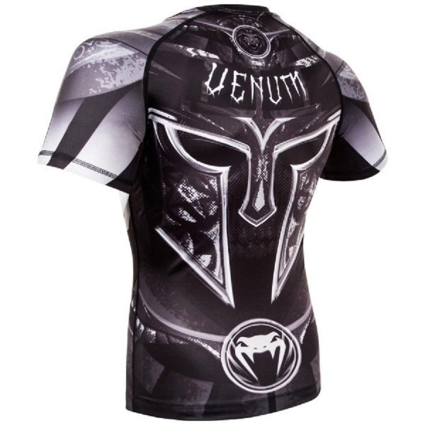 Рашгард Venum Gladiator 3.0 Black/White S/S