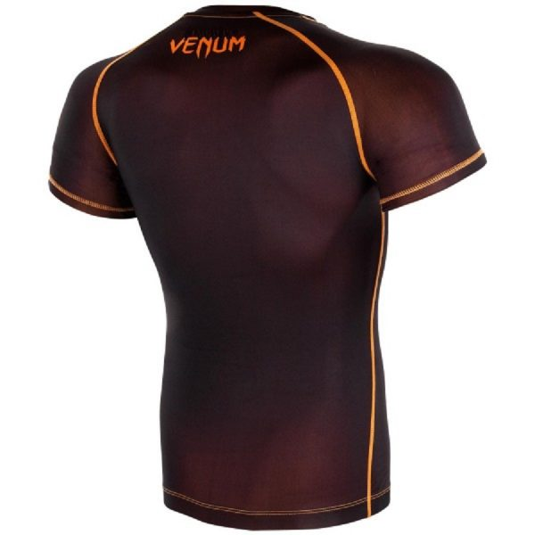 Рашгард Venum Contender 3.0 Black/Orange S/S