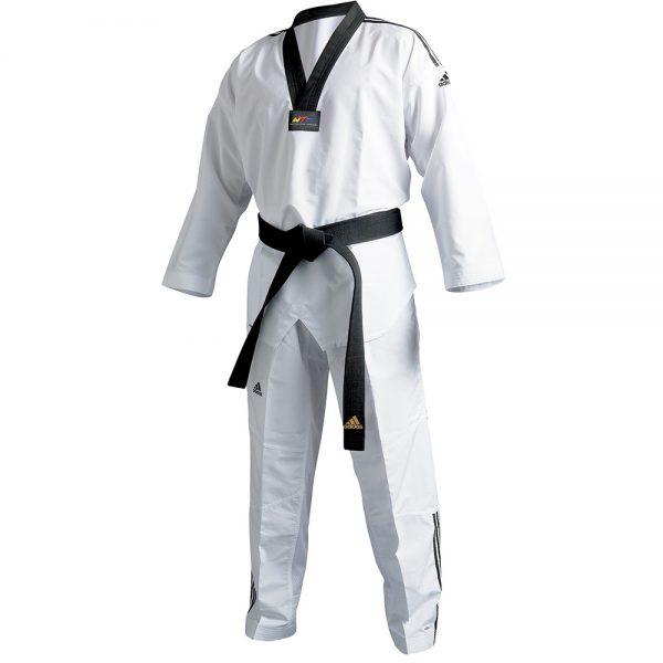 """Кимоно для тхэквондо Adidas WTF """"Adi-Fighter 3"""", полиэстер"""