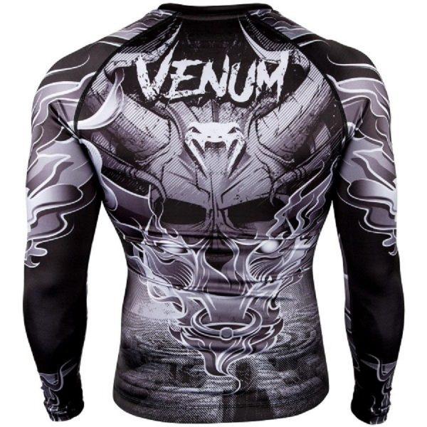 Рашгард Venum Minotaurus Black/White L/S