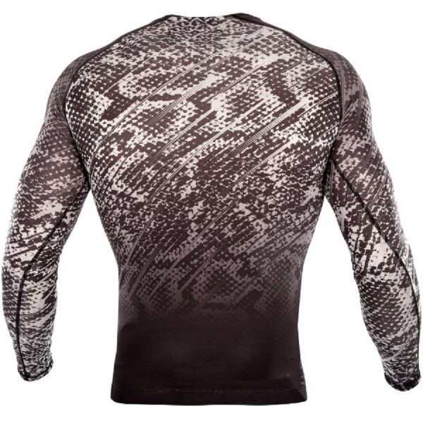 Рашгард Venum Tropical Black/Grey L/S