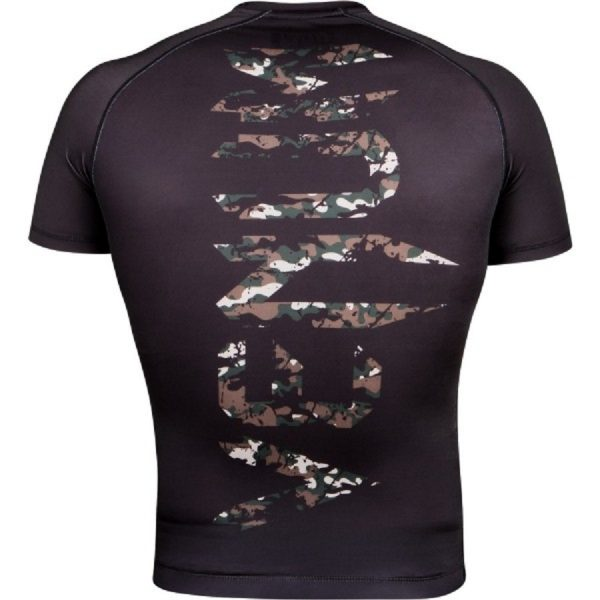 Рашгард Venum Original Giant Jungle Camo Black S/S