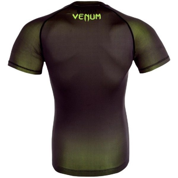 Рашгард Venum Contender 3.0 Black/Yellow S/S