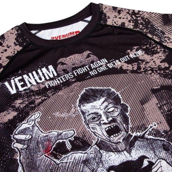 Рашгард Venum Zombie Return Black L/S (тренировочная форма)