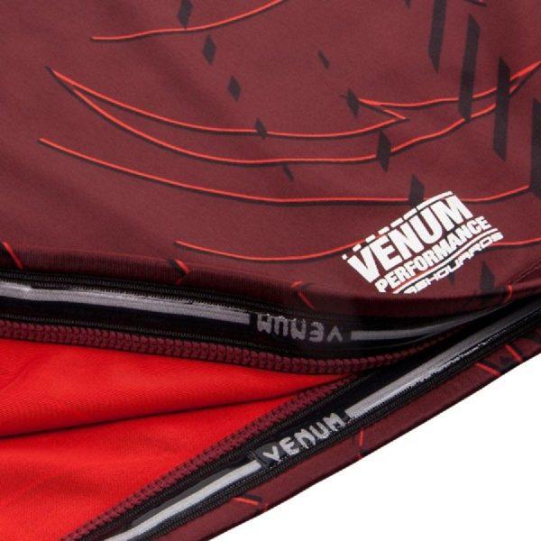 Рашгард Venum Nightcrawler Red S/S