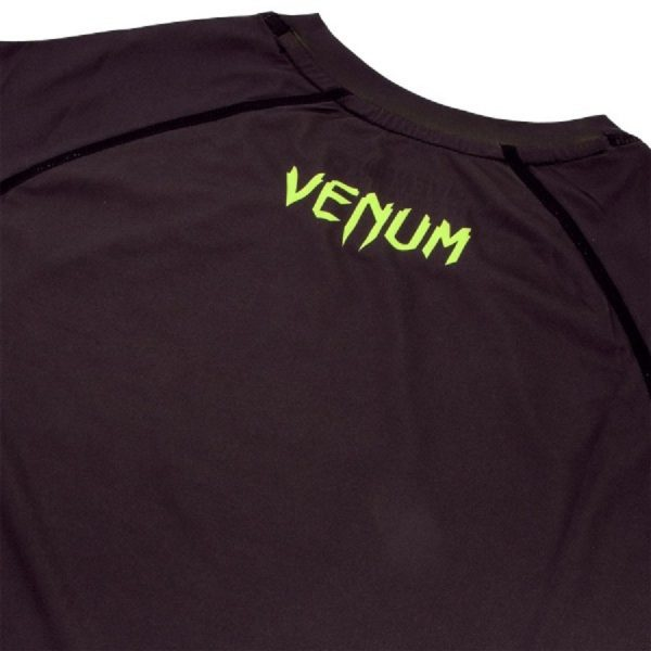 6Рашгард Venum Contender 3.0 Black/Yellow L/S