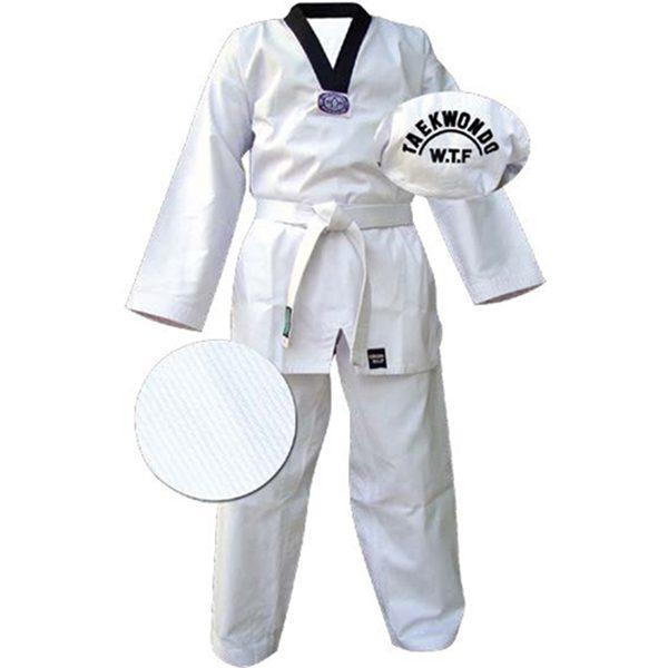"Кимоно Taekwondo ""CHEAP"" белое Green Hill"