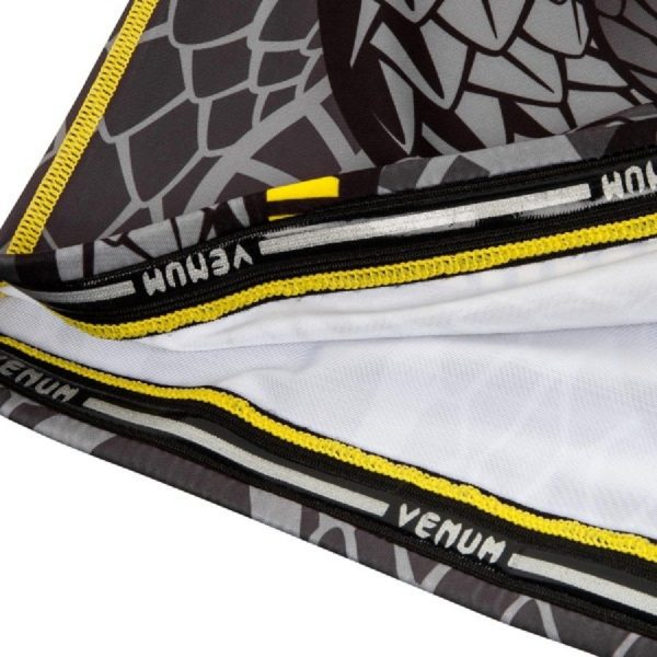 Рашгард Venum Snaker Black/Yellow S/S