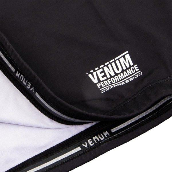 Рашгард Venum Contender 3.0 Black/White S/S