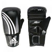 Снарядные перчатки ADIDAS, к/з, черные