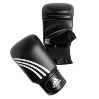 Снарядные перчатки ADIDAS/PERFORMER, черный, кожа+к/з