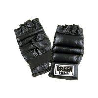 Шингарты из натуральной кожи Green Hill, черные